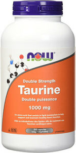 Taurine capsules 1000 mg- What Is Taurine Good For?   The Wonder Molecule
